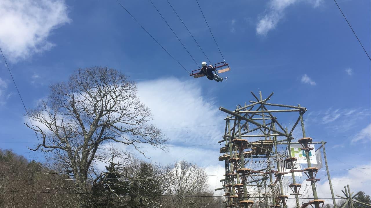 Blue Ridge Course Giant Swing