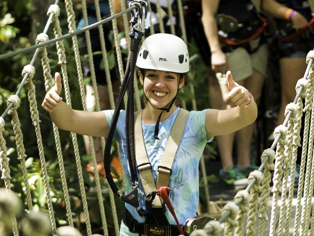 girl-smiling-thumbs-up-adventure-park-high-gravity-adventures