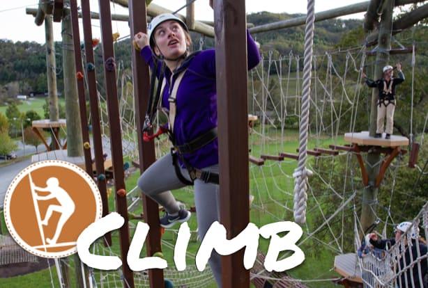 Climb with High Gravity
