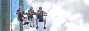 Swing into to summer at High Gravity Adventures