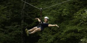 High Gravity Zipline Fun
